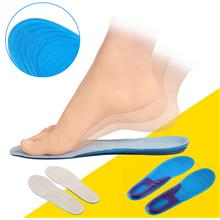 New Silicone Sports Shoes Insoles Comfort Arch Support Massaging Breat..