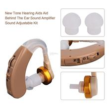 Tone Hearing Aids Behind The Ear Sound Amplifier Sound Adjustable Kit
