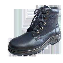 Safety Shoes Black Hammer Men Medium Lace Up Black BH2332 FOC Del GST