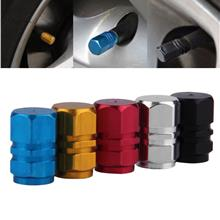 4pcs Aluminum Car Truck Bike Tire Tyre Wheel Rims Air Valve Stem Caps ..