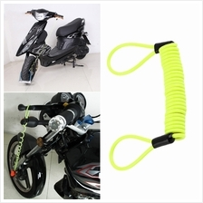 120cm Security Bike Scooter Motorcycle Disc Lock Reminder Cable