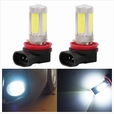 2 x 6000K 25W High Power COB LED Fog Driving Headlight Light Lamp Bulb