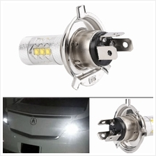 12V H4 80W 6000K Super Bright LED White Fog Turn Head Car Light Lamp