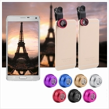 Hot 3 In 1 Clip Camera Lens Fish Eye Wide Angle Macro For Smart Phone