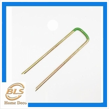U PIN FOR Artificial Grass Turf Metal Pegs Mesh Mat Staples