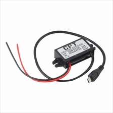 Car Charger DC Converter Module 12V To 5V 3A 15W with Micro USB Cable ..