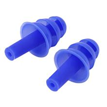 1 pair Silicone Ear Plugs Anti Noise Snore Earplugs Comfortable For St..