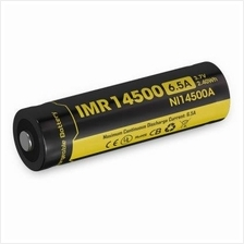 Nitecore IMR 14500 High Drain Li-Mn 650mAh Rechargeable Battery