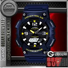 CASIO AQ-S810W-2AV SOLAR POWERED WATCH ☑ORIGINAL☑
