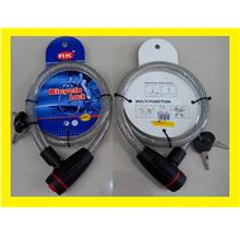Secure Cable Lock 4 Motorcycle Bicycle House Shop Office Door Gate $R1
