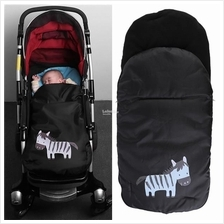 Windproof Babies Sleeping Bag Thick Trolley Coldproof  Foot Cover