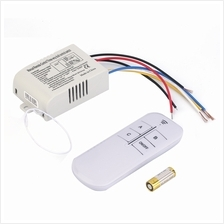 220V 3 Way ON/OFF Digital RF Remote Control Switch Wireless For Light ..