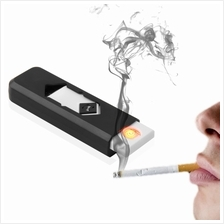 USB Electronic Rechargeable Battery Flameless Cigar Cigarette Lighter