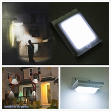 16 LED Solar Power Motion Sensor Secure Lamp Outdoor Waterproof Light