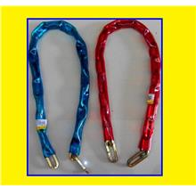 Secure Chain Lock 4 Motorcycle Bicycle House Shop Office Door Gate $RM