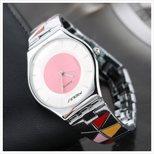 SINOBI 9282 Women Occident Style Waterproof Quartz Slim Wristwatches