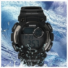 SKMEI 1054 Fashionable Men Children LED Swim Dress Waterproof Watch