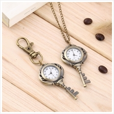 Fashion Antique Key Shaped Pendant Watch