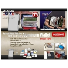 RFID Scanning Protection,Aluma/Aluminium Case Portable Wallet+SHIPPING