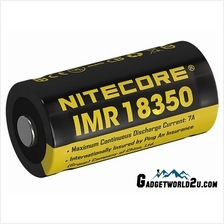 Nitecore IMR 18350 3.7V 700mAh Li-ion Rechargeable Battery (NL18350A)
