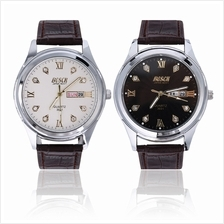 BOSCK 3031 Fashion Double Calendar Quartz Watch
