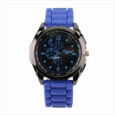 487 Unisex Fashion Silicone Quartz Watch