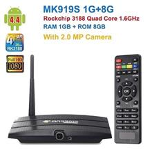 8GB Quad Core Android TV Box With Camera (AT-04).