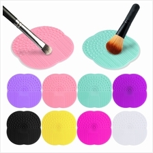1 x Silicone Makeup Brush Cleaner Scrubber Board Cleaning Mat Pad