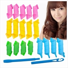 18pcs DIY Magic Circle Hair Styling Roller Curler Spiral Tool