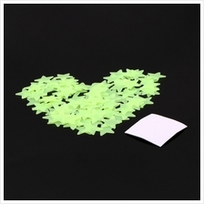 100PCS Home Wall Glow In The Dark Stars Stickers Decal Dreamy Noctiluc