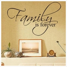 Family is Forever Removable Art Vinyl Wall Stickers Decal Mural Home D..