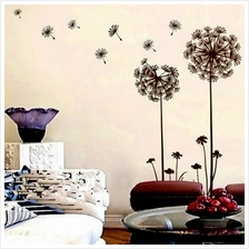 Creative Dandelion Wall Decal Sticker Removable Mural PVC Home Art Dec..