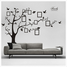 New 50*70CM Photo Tree PVC Wall Decals Wall Stickers Mural Art Home De..