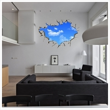 New Creative Blue Sky 3D Stereo Ceiling Living Room Bedroom Wall Stick..