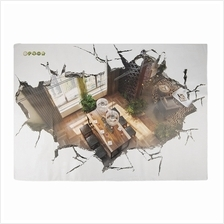 3D Wall Stickers Bedroom Wall Stickers Background Wall Inspiration Art