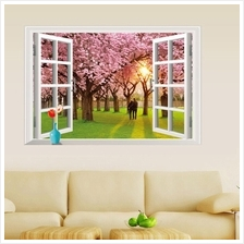 AY9234E Wall Stickers Bedroom Wall Stickers Background Wall Inspiratio..
