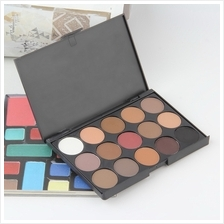 Professional 15 Colors Warm Nude Matte Shimmer Eyeshadow Palette Cosme..
