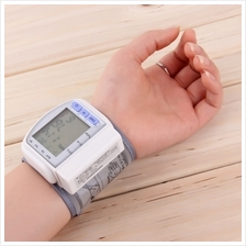 New Digital Automatic Wrist Blood Pressure Pulse Monitor Heart Beat Me..