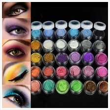 Colorful 30 Colors Eye Shadow Powder Makeup Mineral Eyeshadow