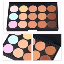 15 Color Pro Makeup Facial Concealer Camouflage Cream Palette Cosmetic