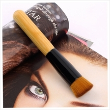 Professional Soft Fiber Angled Flat Top Foundation Powder Brush Cosmet..