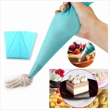 30cm Silicone Reusable Icing Piping Cream Pastry Bag Cake Decorating T..
