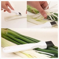 Stainless Steel Scallion Onion Vegetable Shredder Slicer Cutter Kitche