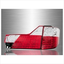TOYOTA ALPHARD ANH10 Facelift 2005 - 2007 Red Clear Lens LED Tail Lamp