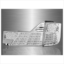 TOYOTA ALPHARD ANH10 Facelift 2005-07 Clear Chrome Lens LED Tail Lamp