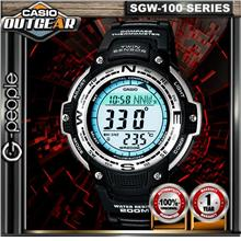 CASIO OUTGEAR SGW-100-1V TWIN SENSOR WATCH☑ORIGINAL☑