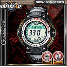 CASIO OUTGEAR SGW-100B-3A TWIN SENSOR WATCH☑ORIGINAL☑