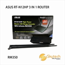 ASUS WIRELESS 3 IN 1 UNIFI ROUTER HIGH POWER (RT-N12HP)