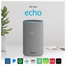 All-new Echo (2nd Generation) with improved sound, powered by Dolby, a
