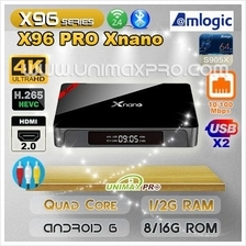 X96 PRO Android 6 TV Box 1GB 2GB RAM 8GB 16GB ROM IPTV Mini T95 TVBOX